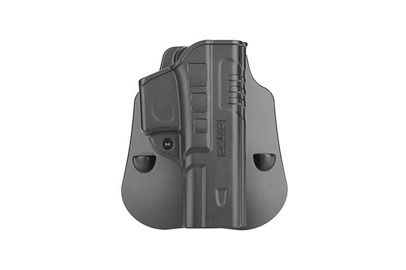 Cytac FastDraw Holster pour Glock 17, 22, 31 - BK