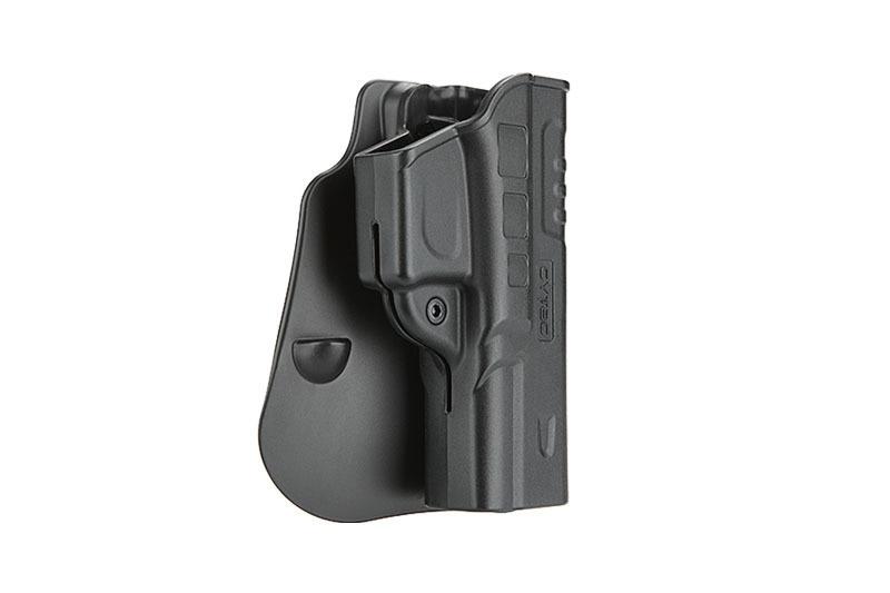 Cytac FastDraw Holster for Glock 17, 22, 31 - BK