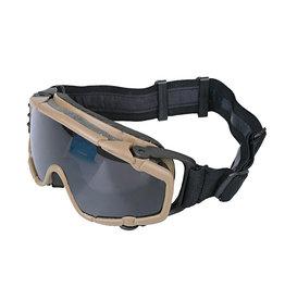 FMA Schutzbrille mit Ventilator - TAN