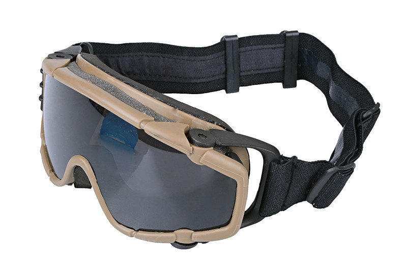 FMA Safety glasses with fan - TAN