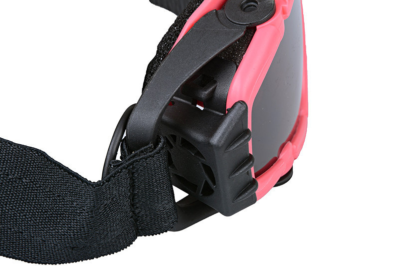 FMA Safety glasses with fan - Pink