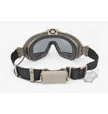 FMA Safety glasses with fan V2 - TAN
