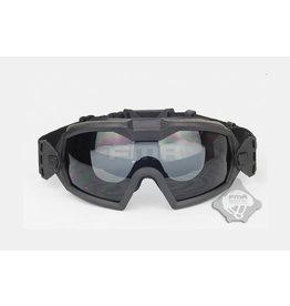 FMA Schutzbrille mit Ventilator V2 - BK