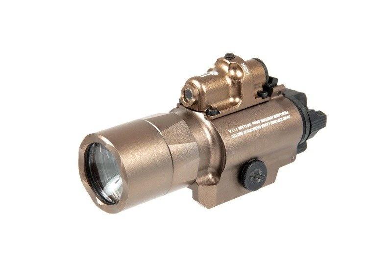 Night Evolution SF X400 Pistolen Flashlight Laser Combo - TAN