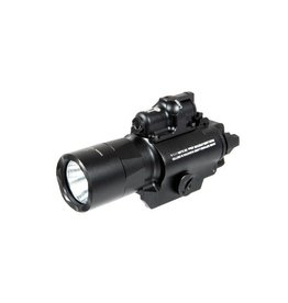 Night Evolution SF X400 Pistol Flashlight Laser Combo - BK