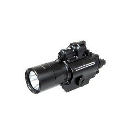 Night Evolution SF X400 Pistolen Flashlight Laser Combo - BK