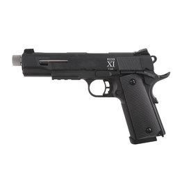Secutor Rudis XI Co2 GBB 0,83 Joule - BK/Silber