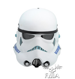 FMA Star Wars Star Trooper Maske - weiss