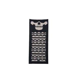 Mil Spec Monkey MSM Shemagh Multi-Wrap Scarf - BK Skull