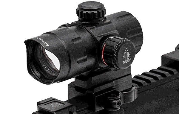 UTG Viseur QD T-Dot rouge/vert - BK