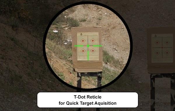 UTG Red/Green QD T-Dot Sight - BK