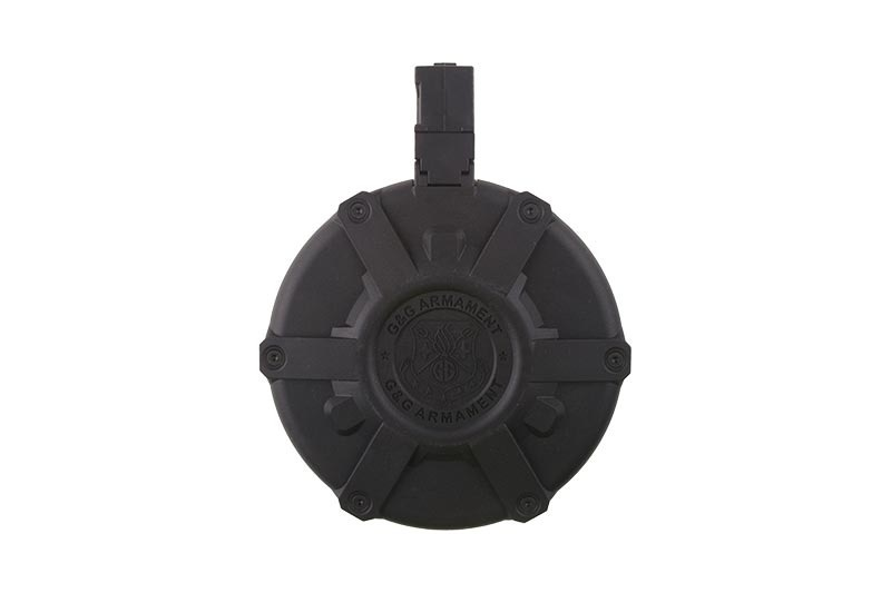 G&G MP5 Manual Drum Magazine 2.300 BBs - BK