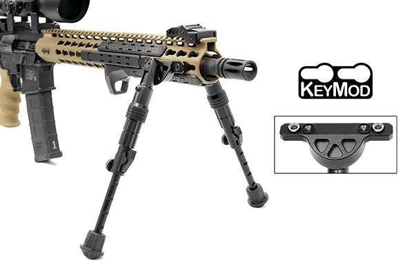 UTG Recon Flex KeyMod Zweibein - BK
