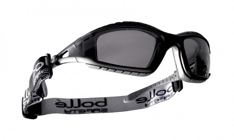Bolle Safety glasses Tracker smoke - BK