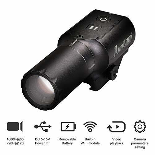 Novritsch Sniper Scope Cam 1080P HD WiFi Action Camera