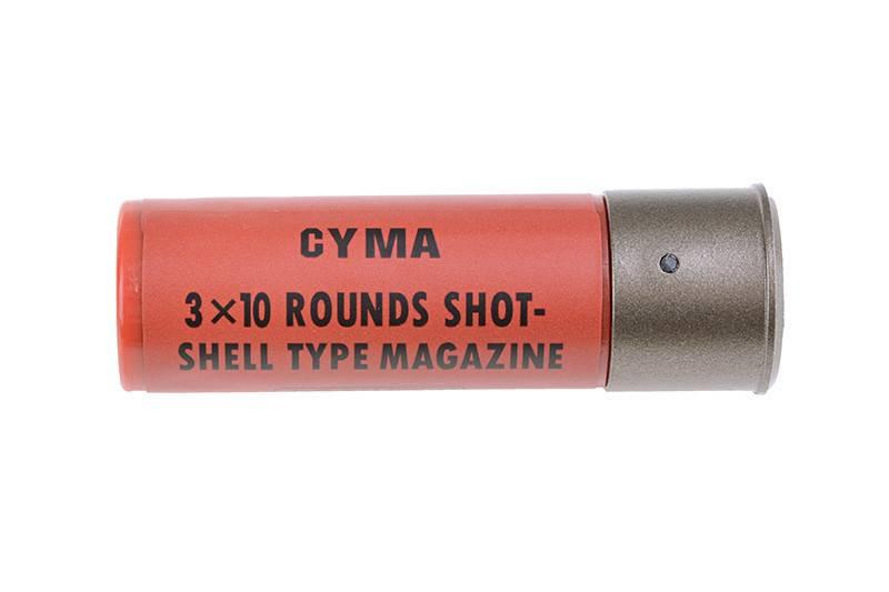 Cyma CM.350LMN - 3-Burst Spring Metal Shotgun - BK