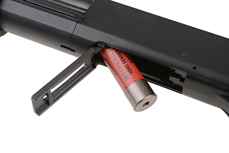 Cyma CM.352L - 3-Burst Spring Polymer Shotgun- BK