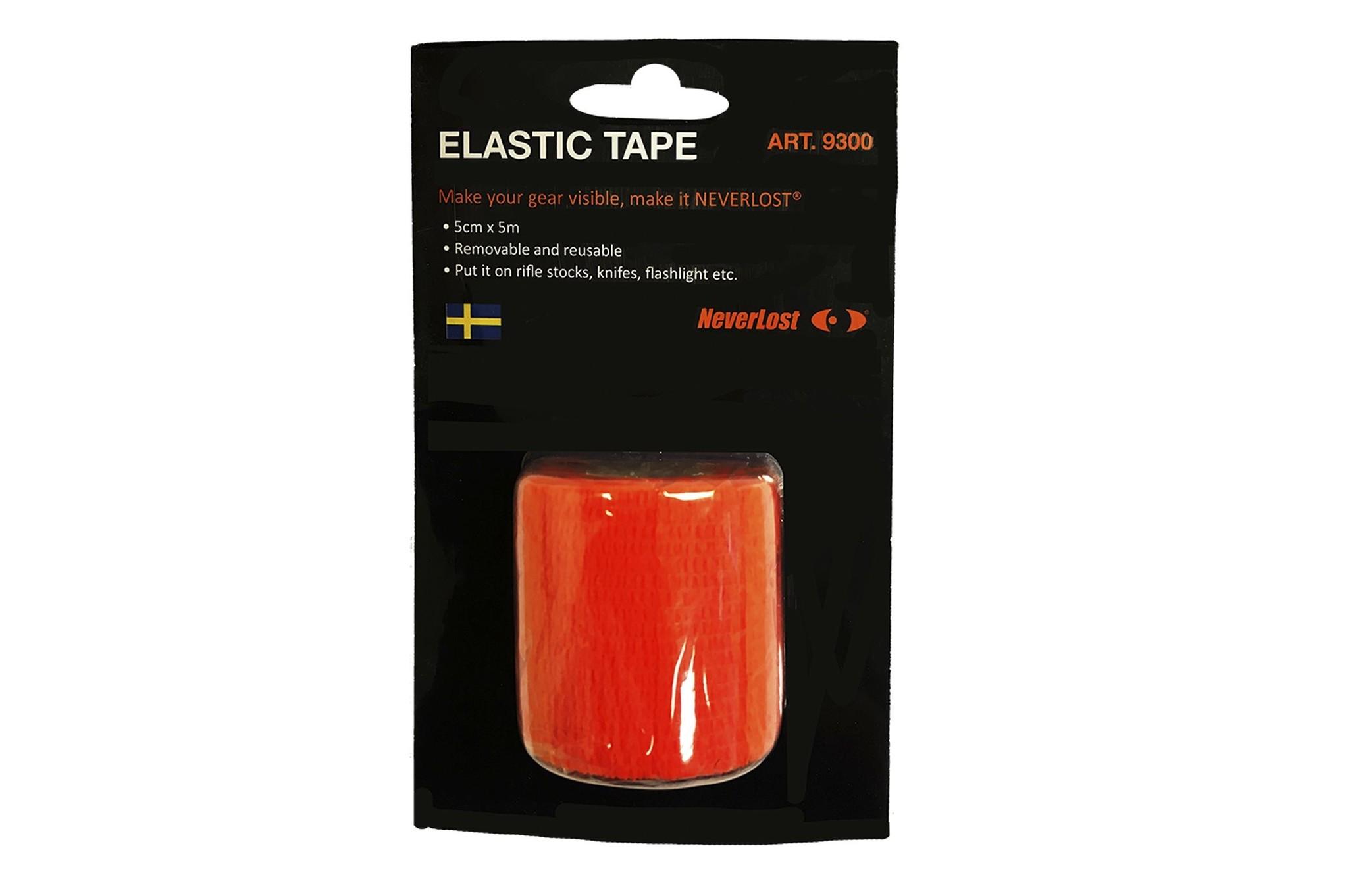 Neverlost Markierungsband Elastic Tape - orange