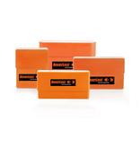 Neverlost Munitionsbox Cartridge Case Kal. 6,5x55 - 9,3x62 - orange