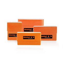 Neverlost Boite à cartouches pour cartouches Kal., 6,5x55 - 9,3x62 - orange