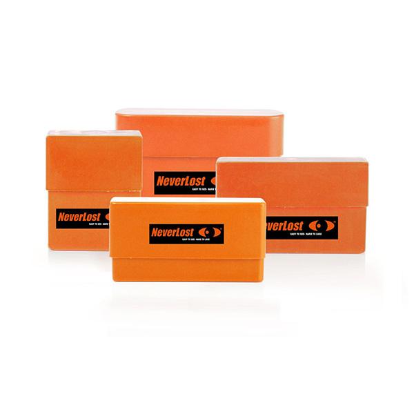 Neverlost Ammo box Cartridge Case Kal. 6,5x55 - 9,3x62 - orange