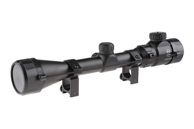 Theta Optics 3-9x40 EG Riflescope Weaver - BK