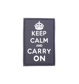 ACM Tactical 3D Patch Keep Calm And Carry On - BK