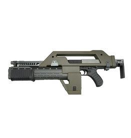 Snow Wolf M41A Pulse Alien Gun AEG 0.67 Joule - OD
