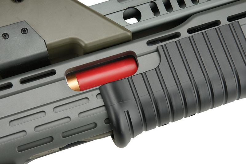 Snow Wolf M41A Pulse Alien Gun AEG - OD