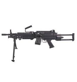 S&T ARMAMENT STAEG103 Para LMG M249 AEG 1.33 Joule - BK