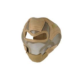 Ultimate Tactical Schutzmaske Typ Steel V7 - TAN