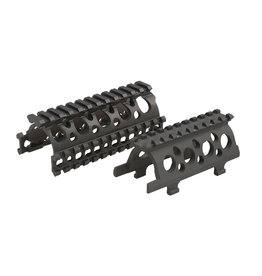 E&L Weaver RIS Rail Set AKS-74U Series - BK