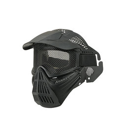 Ultimate Tactical Full face mask type Guardian V1 - BK