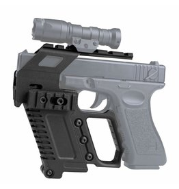 Ultimate Tactical G17/G18/G19 Tactical RAS Carbine Mount - BK