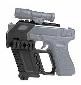 Ultimate Tactical G17/G18/G19 Tactical RAS Carbine Mount - BK