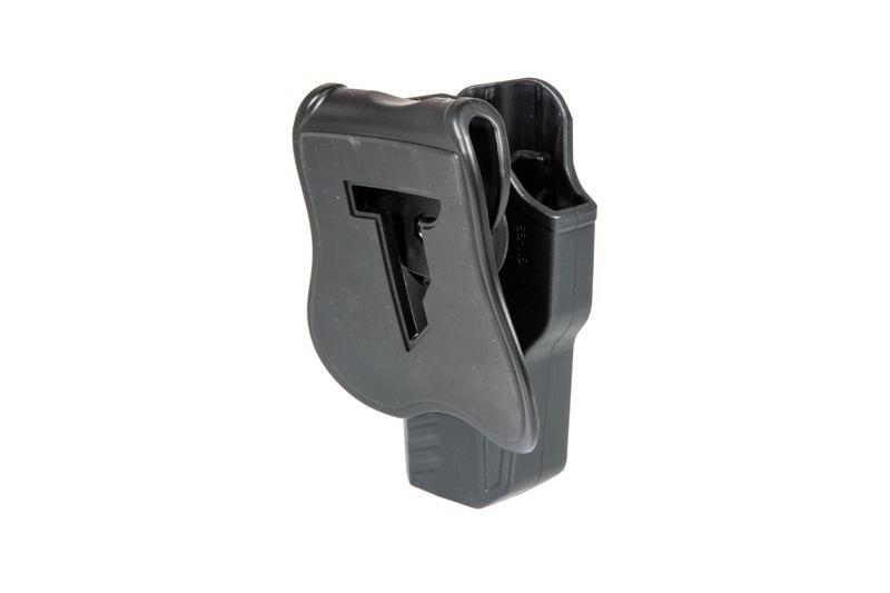 Cytac R-Defender G3 Holster für Glock 17, 22, 31 Rechtshänder - BK