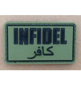 ACM Tactical 3D Rubber Patch Infidel - OD
