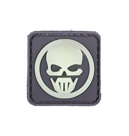 ACM Tactical 3D Rubber Patch - Ghost - BK