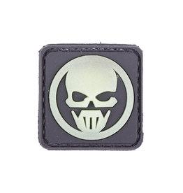 ACM Tactical Patch en caoutchouc 3D - Ghost - BK