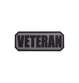 ACM Tactical 3D Rubber Patch Veteran - BK