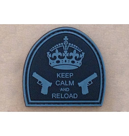 ACM Tactical 3D Rubber Patch Keep Calm And Reload - BK