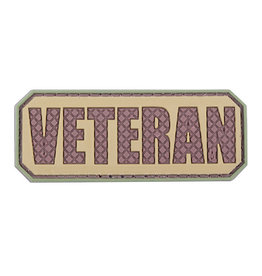 ACM Tactical 3D Rubber Patch Veteran - TAN