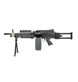 A&K LMG M249 SPW Para AEG machine gun 1.41 Joule - BK