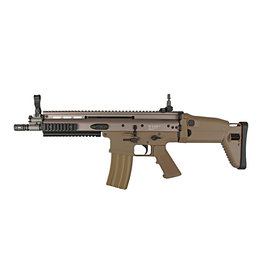 WE Tech MK16 SCAR-L CQB AEG - TAN