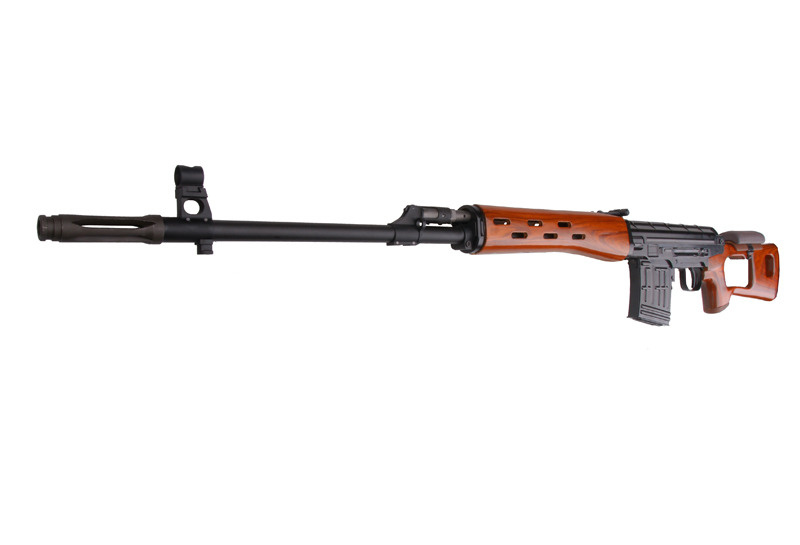 WE Tech ACE VD SVD Sniper GBBR 1.49 Joule - Real Wood