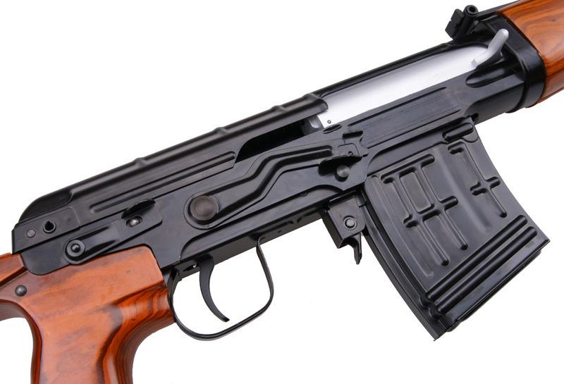 WE Tech ACE VD SVD Sniper GBBR 1,49 Joule - Echtholz