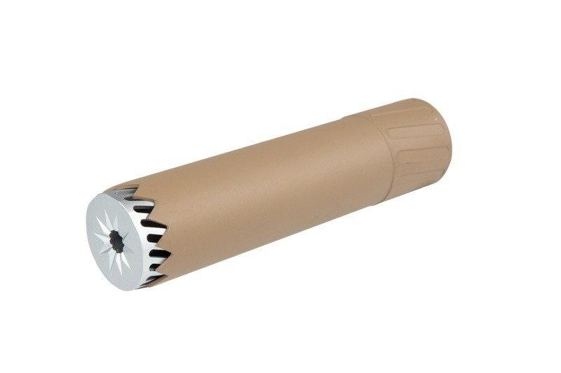 Kublai S055 Schalldämpfer Replika - Silencer 175 x 40 mm - TAN