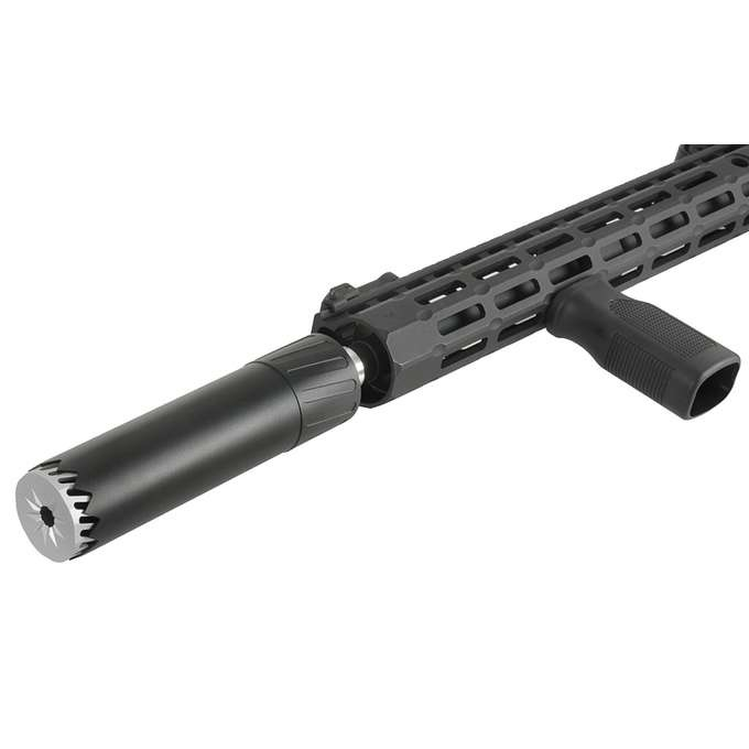 Kublai S055 Schalldämpfer Replika - Silencer 175 x 40 mm - BK