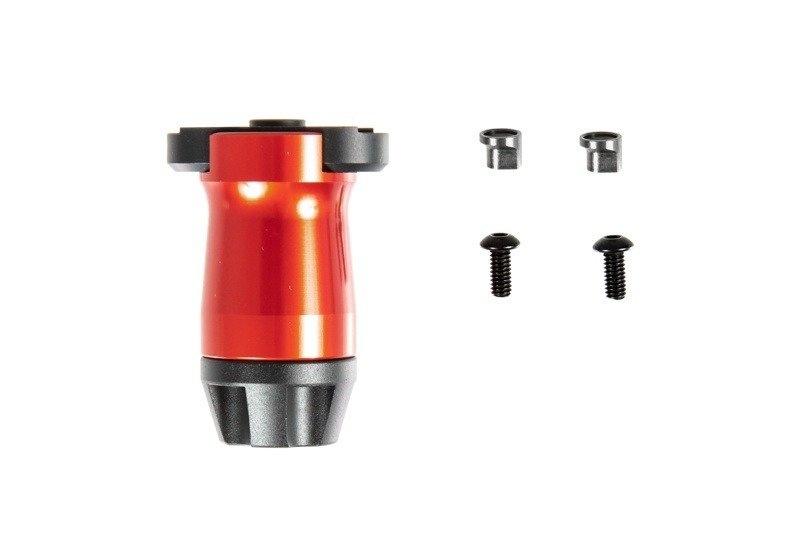 Kublai KeyMod front grip - red
