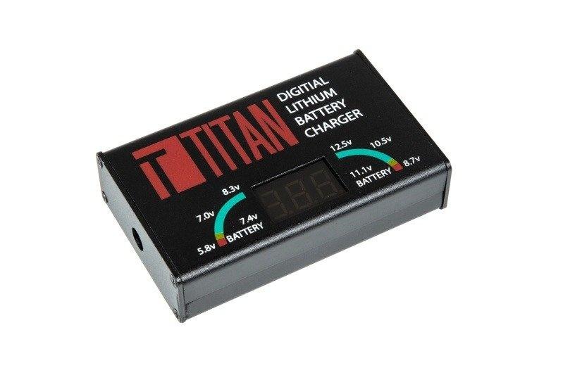 Titan Power Digitales Lithium LiPo, LiFe, LiIon Ladegerät